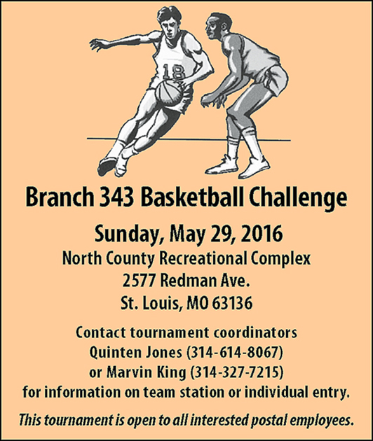 Branch 343 Basketball Challenge