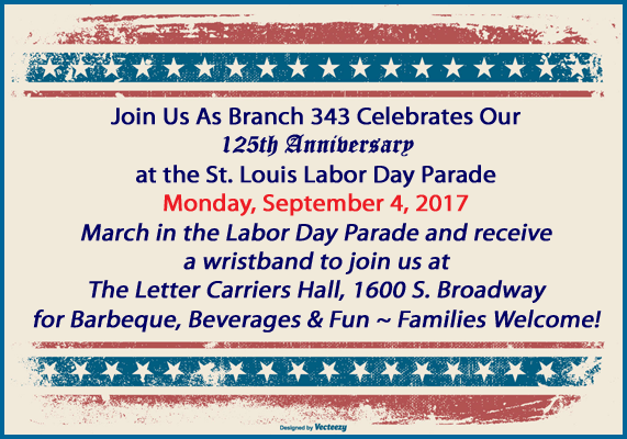 Branch 343 Labor Day Parade